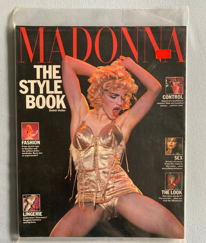 Madonna The Style Book 1992 (Blonde Ambition Cover)