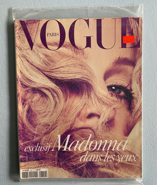 Madonna 2004 Paris Vogue Magazine