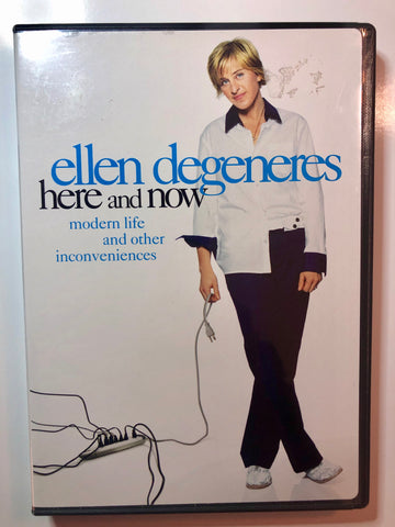 Ellen Degeneres – Here And Now - DVD - Used
