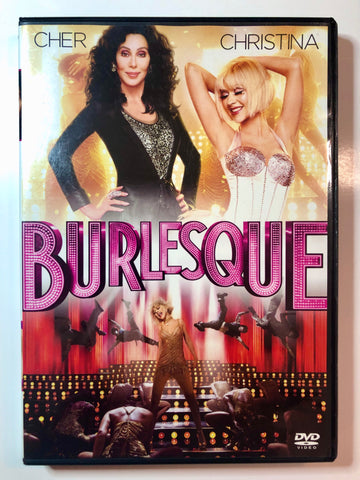 Cher - Christina Aguilera – Burlesque - DVD - Used