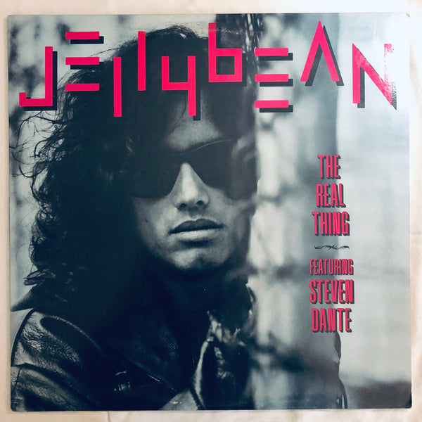 "Jellybean Featuring Steven Dante – The Real Thing - Vinyl 12""  - Used"