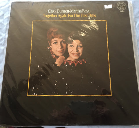 Carol Burnett & Martha Raye - Together Again for the first time (Original LP) Used