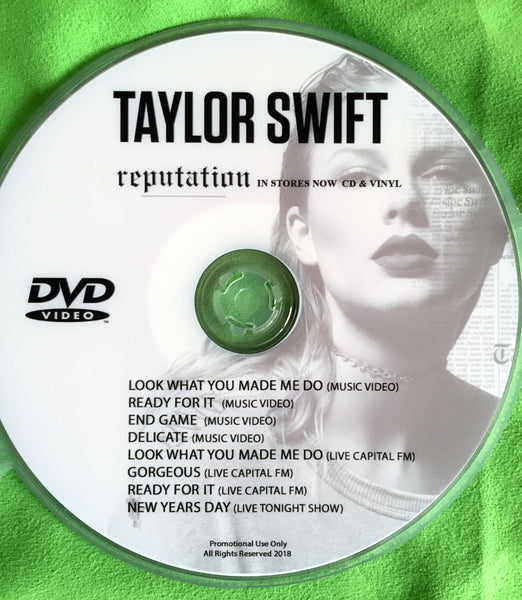 Taylor Swift 'Reputation' DVD music videos and Live