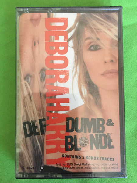 Deborah Harry -Def Dumb & Blonde Audio cassette (NEW)