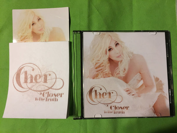 Cher - Closer To The Truth - Promo CD & Note Pad Magnet