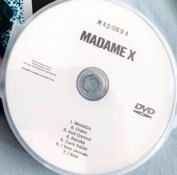Madonna - MADAME X Videos DVD (NTSC)