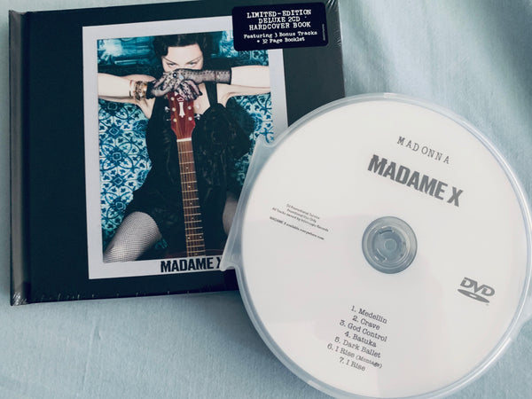 Madonna - Madame X (Import) Deluxe 2CD edition + BONUS DVD ft: 6 music videos