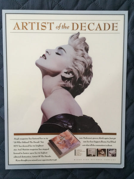 Madonna - Counter Display Artist Of The Decade - official