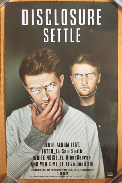 "Disclosure Promo (Double Sided)  Poster ""Settle""  14x22"