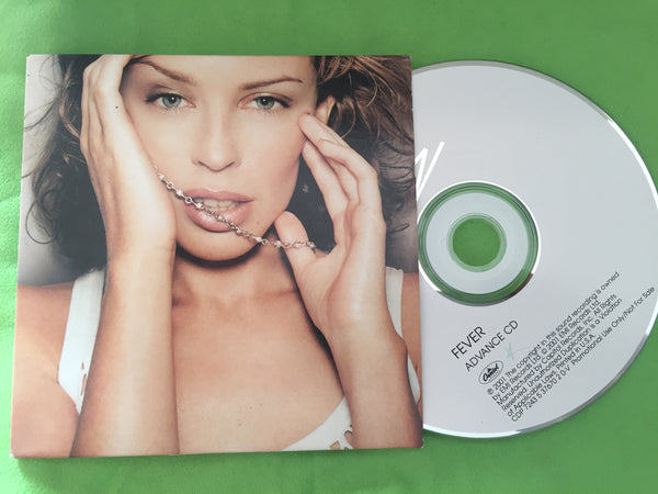 Kylie Minogue - FEVER (Advanced Promo CD) Official