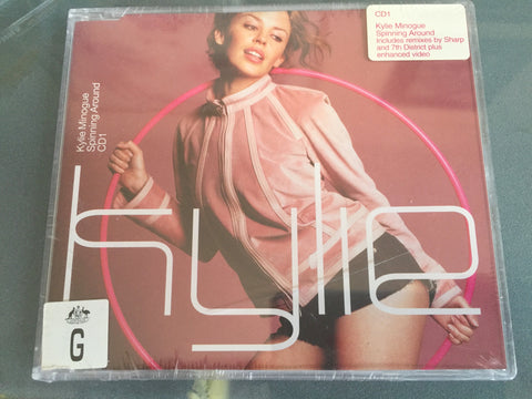 Kylie Minogue - Spinning Around (Import CD Single) NEW Sealed