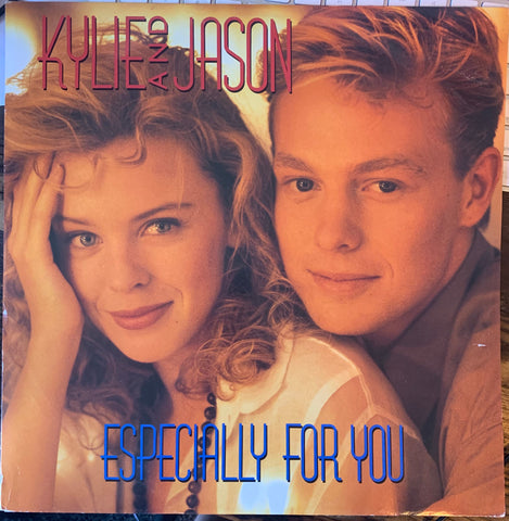 "Kylie and Jason - Especially For You 12"" Import LP VINYL - Used"