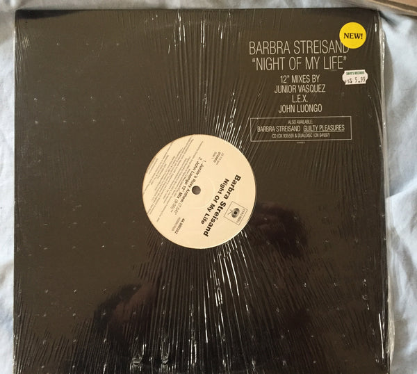 "Barbra Streisand - Night Of My Life 12"" Vinyl (NEW.sealed)"