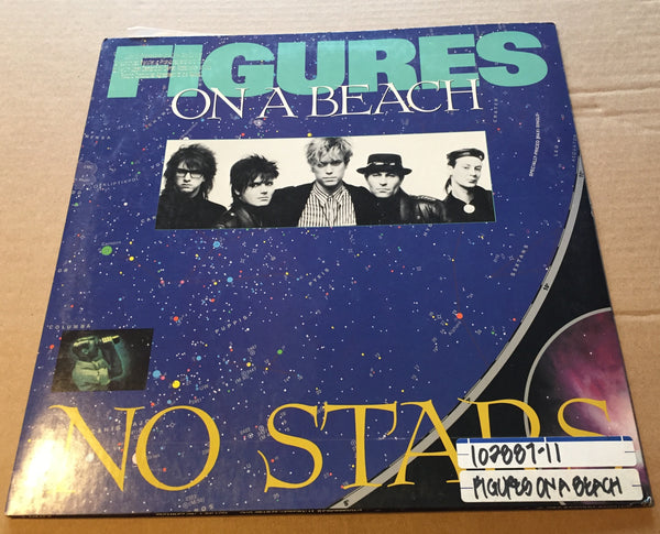 "Figures On The Beach - No Stars 12"" Used"