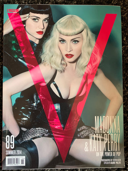 Madonna & Katy Perry : V Magazine (together cover)