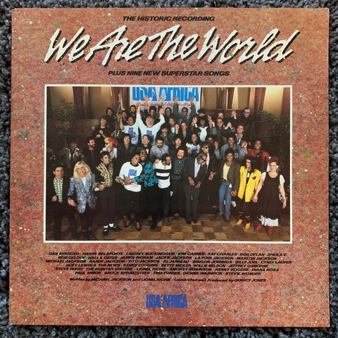 USA For Africa : We Are The World  (Various) - LP Vinyl - Used near mint