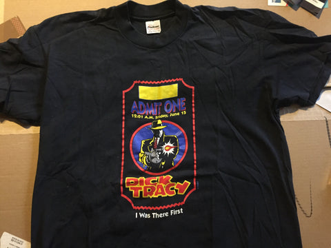 Dick Tracy - Promo T-shirt - Original 90's (XL)