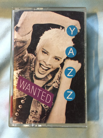 Yazz - Wanted audio cassette (Used)