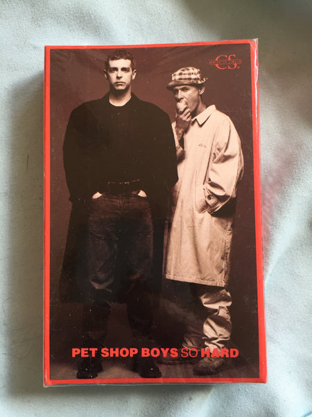 Pet Shop Boys - So Hard Cassette Single (NEW)