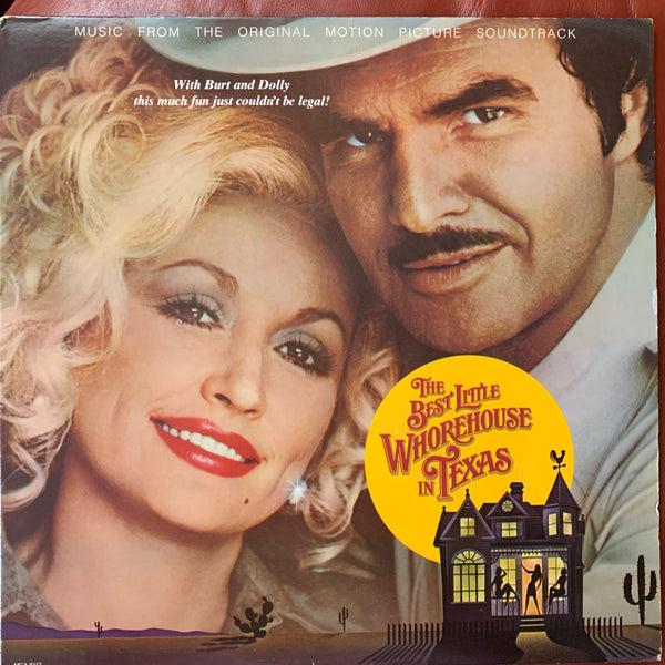 Dolly Parton - The Best Little Whorehouse In Texas -LP vinyl soundtrack -used