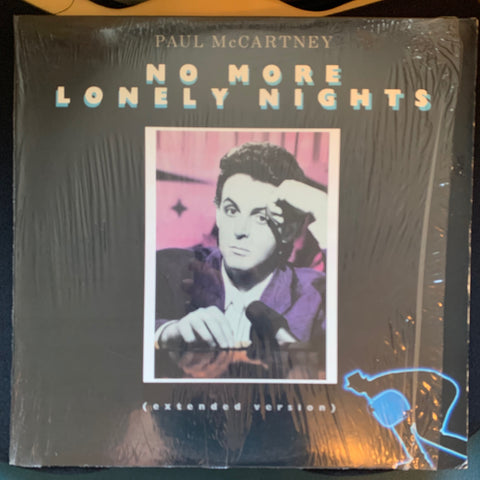 "Paul McCartney - No More Lonely Nights 12"" remix LP Vinyl - used"
