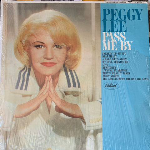 "Peggy Lee  ""Pass Me By"" Original LP Vinyl - Used"