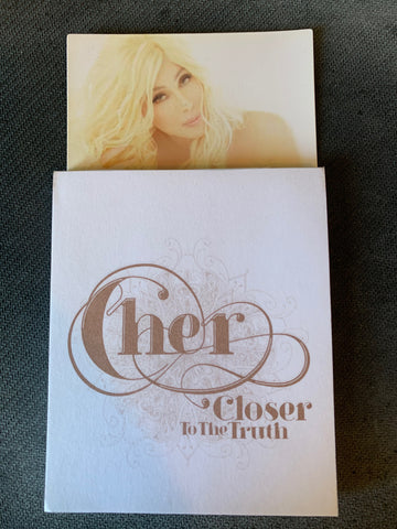 Cher  - Closer to the Truth official Promo Magnetic note pad