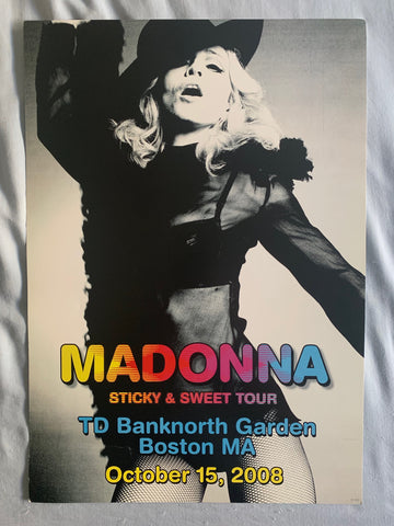Madonna - MA Stickey & Sweet Limited tour print / poster numbered