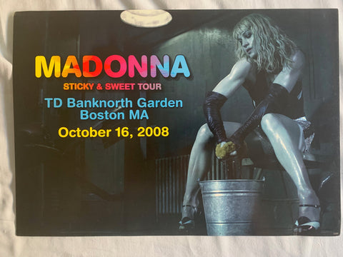 Madonna - Boston Sticky & Sweet Numbered tour print #7
