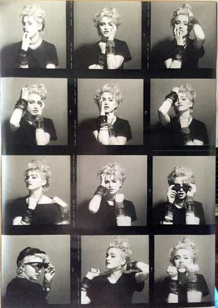 Madonna - 1983 First Album Photo shoot Poster 24x33.5