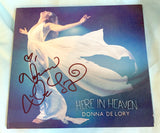 "Donna De Lory - Here In Heaven (Autographed cover) Signed ""Limited Quantities"""