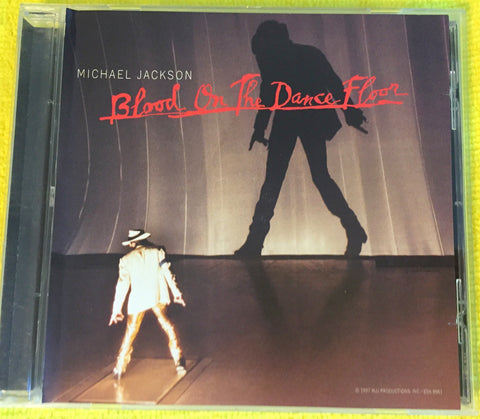 Michael Jackson - Blood On The Dance Floor (Promo CD single)