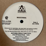Madonna - Nothing Really Matters PROMO LP Vinyl