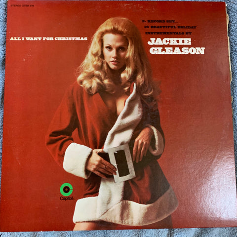 Jackie Gleason presents:  All I Want For Christmas - 2xLP Original used