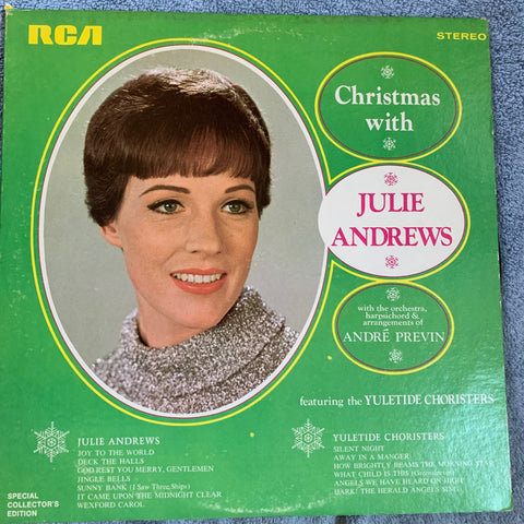 Julie Andrews - Christmas With Julie - LP Vinyl RCA - used