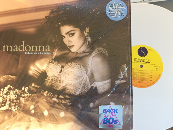 "Madonna - LIKE A VIRGIN 2018 ""Back To The 80's"" White Vinyl (NEW)"