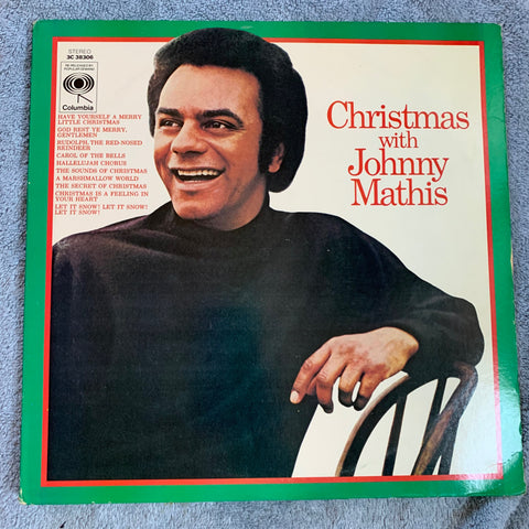 Johnny Mathis - Christmas with  LP Vinyl - used