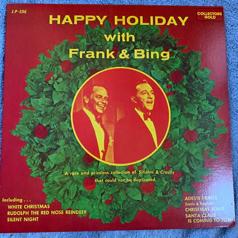 Frank Sinatra & Bing Crosby - Happy Holiday LP Vinyl - Used