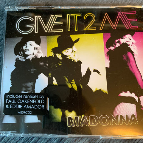 Madonna - Give It 2 Me (Import CD single)