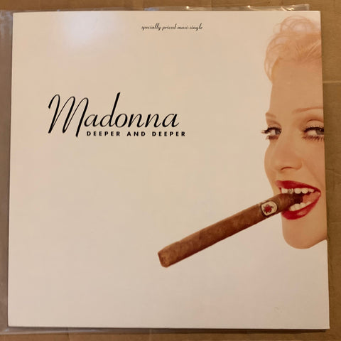 "Madonna - Deeper and Deeper 12"" LP VINYL (Used)"