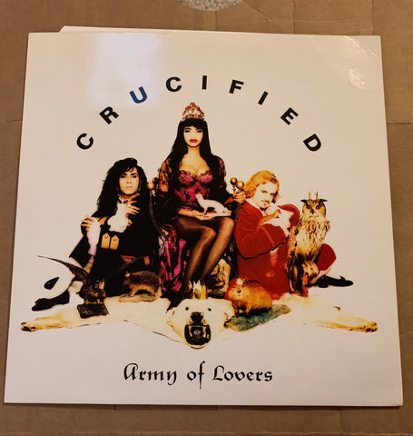 "Army Of Lovers - Crucified 12"" (Used) UK  LP"