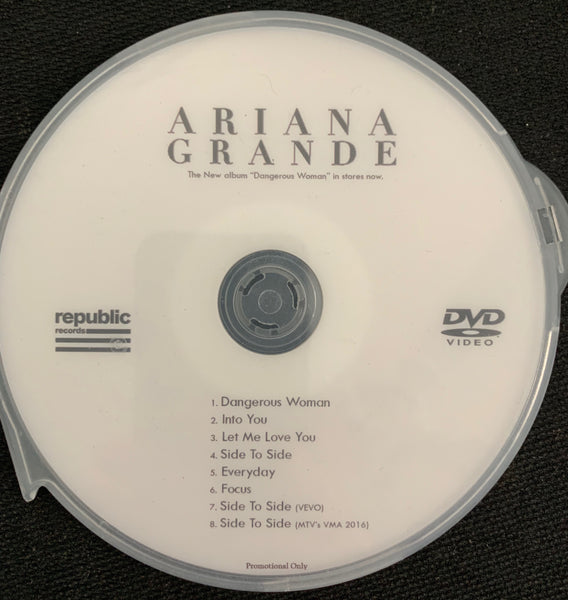 Ariana Grande - Dangerous Woman DVD collection