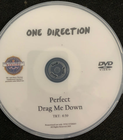 One Direction - Music Video Perfect/Drag Me Down DVD single