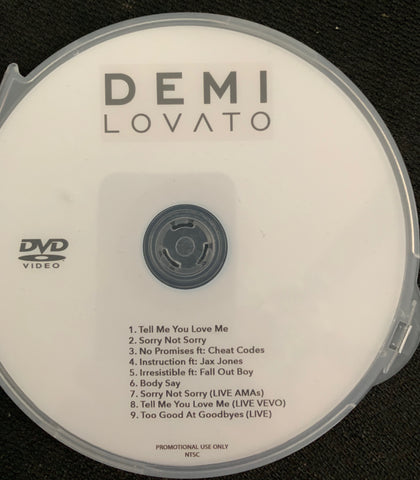 Demi Lovato  9 videos DVD promo  - Tell Me You Love Me +