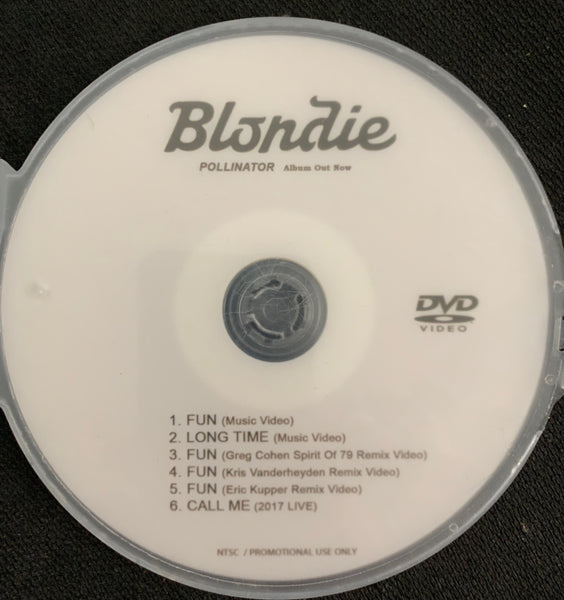 BLONDIE - Pollinator Music Videos DVD Single