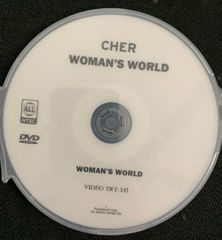 Cher - Woman's World DVD Single (Promo)
