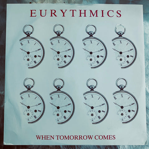 "Eurythmics - When Tomorrow Comes UK 12"" LP Vinyl - Used"