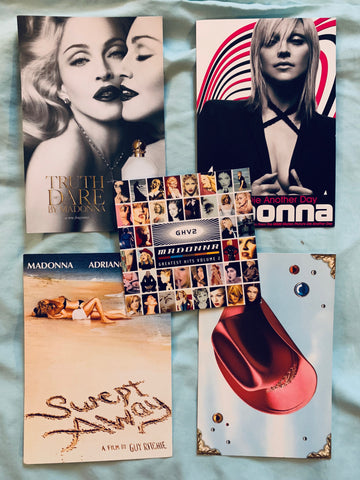 Madonna  - Lot of official promotional postcards (5)