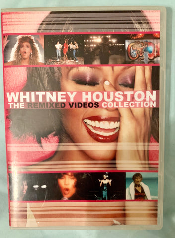 Whitney Houston - REMIXED Music Video Collection  DVD