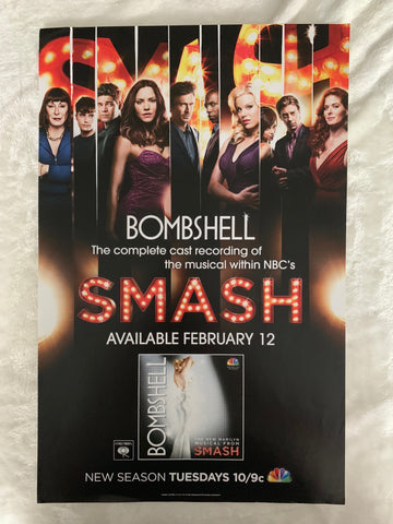 SMASH - Promo 11x17 poster for the TV show